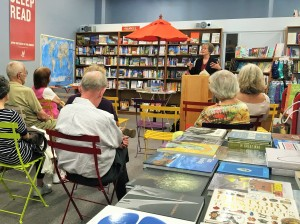 Book reading at Orinda Books, Sep 17, 2016