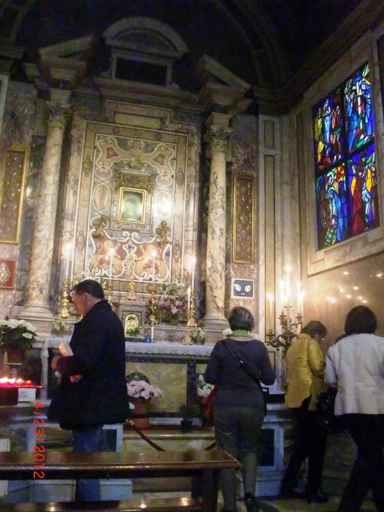 Santa Maria del Popolo, San Silvestro in Capite, Santa Maria in Via, Roma (4/4)