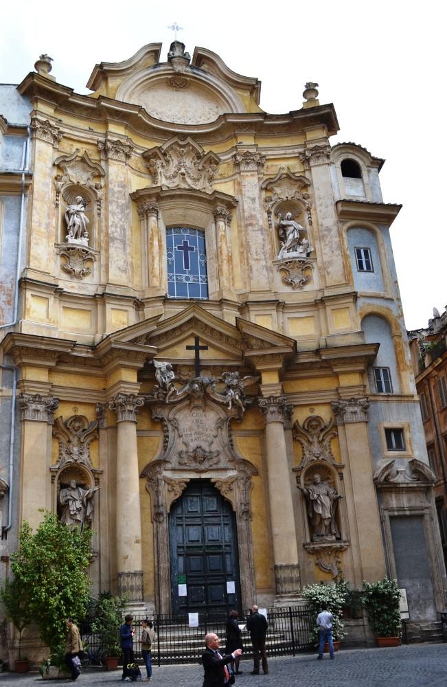 Santa Maddalena and the Camillians, Roma