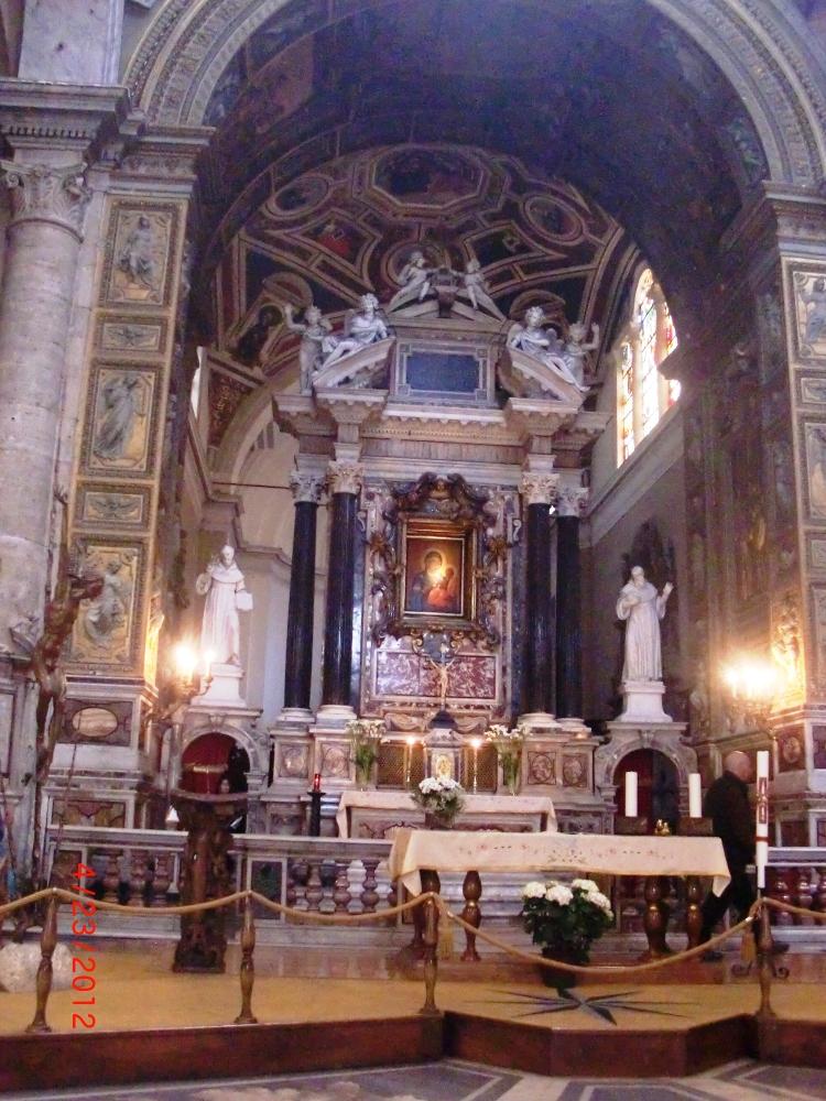 Santa Maria del Popolo, San Silvestro in Capite, Santa Maria in Via, Roma (1/4)