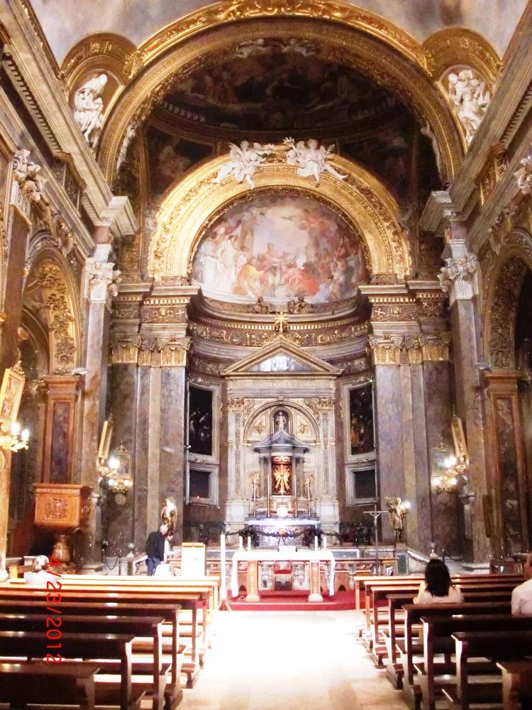 Santa Maria del Popolo, San Silvestro in Capite, Santa Maria in Via, Roma (2/4)