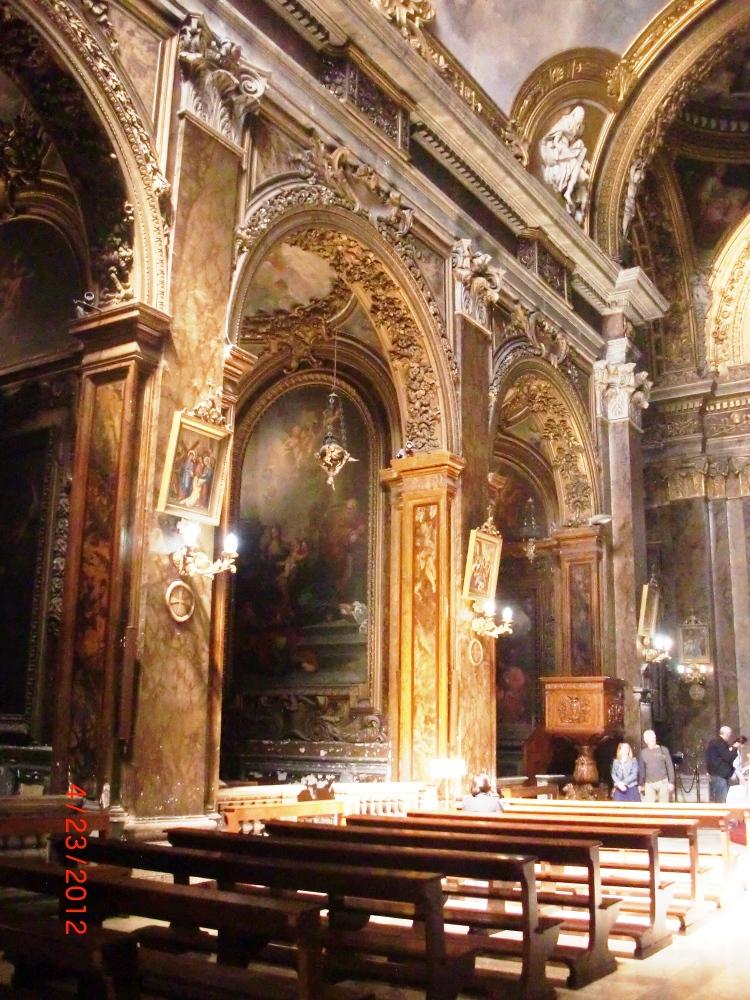 Santa Maria del Popolo, San Silvestro in Capite, Santa Maria in Via, Roma (3/4)