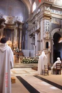 Brothers & Sisters of Jerusalem, Trinita dei Monti, Singing Noon Office