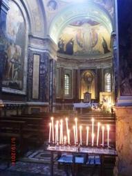 Candles, H.Sacrament Chapel
