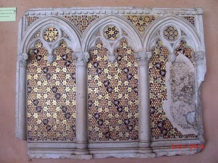Mary Magdalene Altar Front, Middle Ages, Cloisters, S.J.Lateran