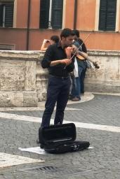 Music, Spanish Steps