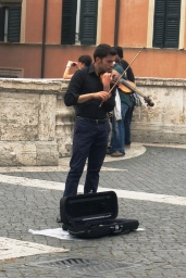Music, Spanish Steps