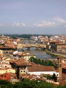 Ponte Vecchio from P. Michelangelo
