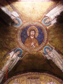 Ceiling, St. Xeno Chapel, Sta. Prassede