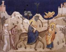 Flight into Egypt, Giotto, 1311