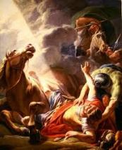 The Conversion of St. Paul by Nicolas-Bernard Lepicie, 1767