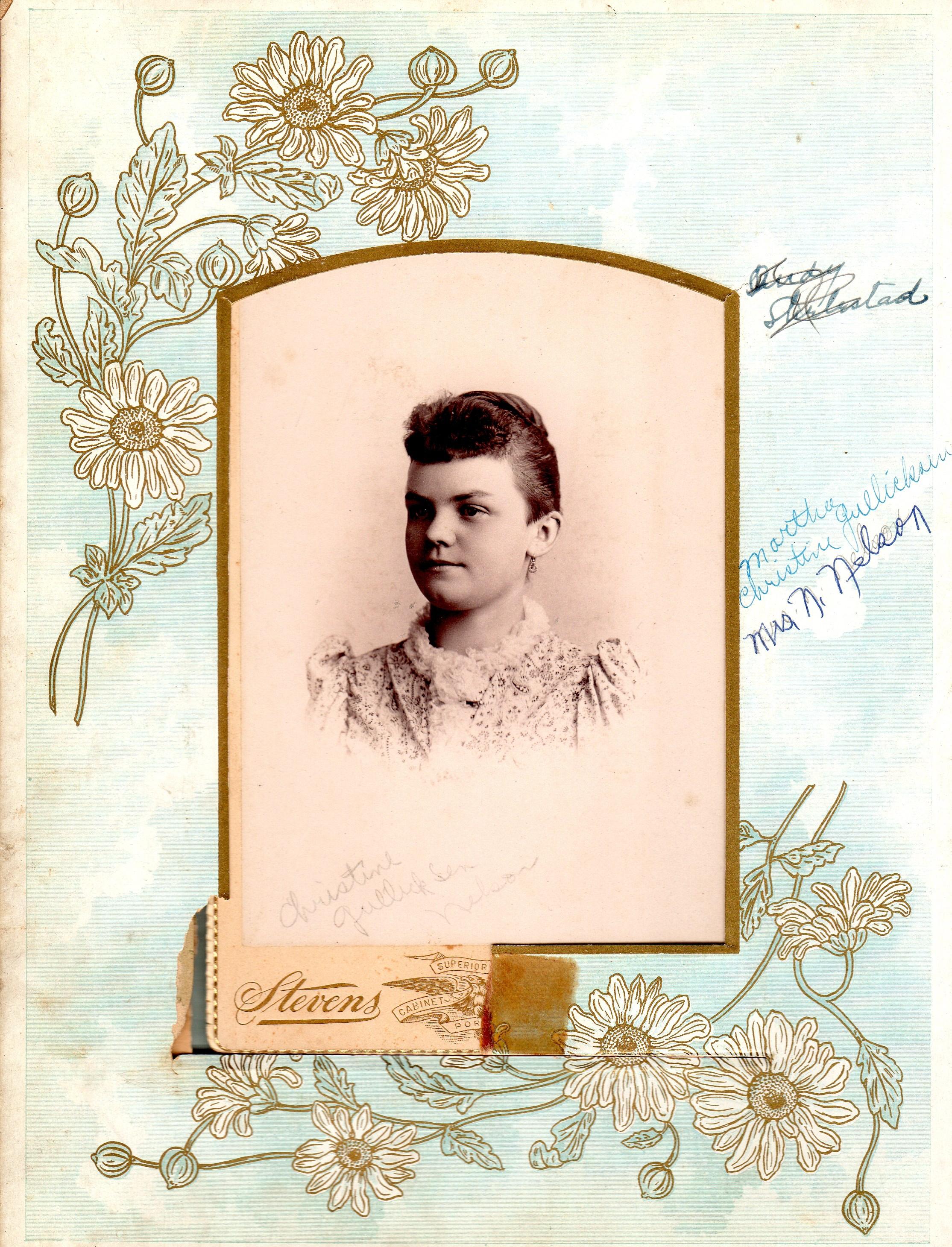 Martha Christine Gillickson Nelson
