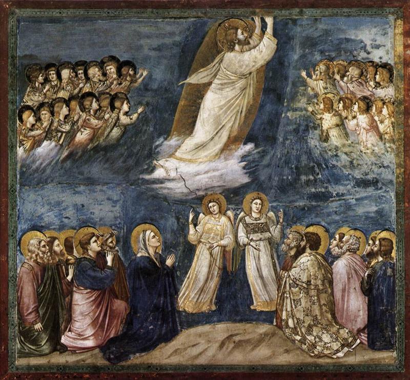 AscensionGiotto.Scrovegni Chapel Padua 1304